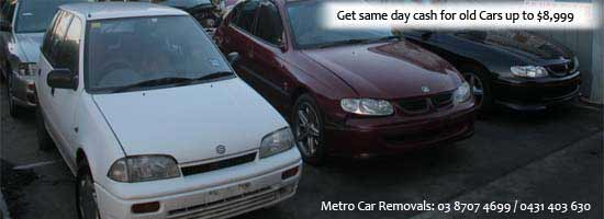 Get Cash for Old Cars Melbourne