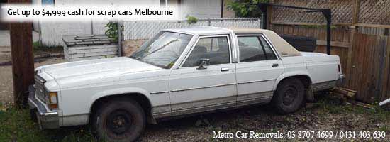 Cash for scrap cars Melbourne