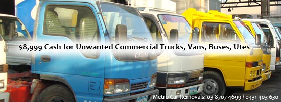 cash for truck wreckers Melbourne