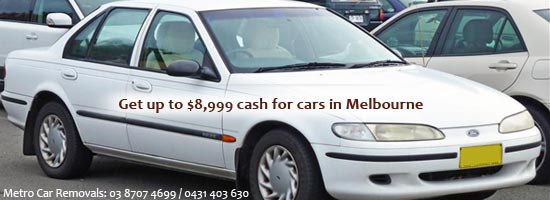 Get Cash for Cars Melbourne