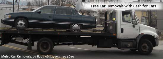 Old Car Removals Melbourne Service