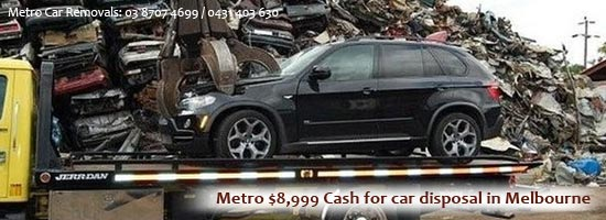 Cash for Car Disposal Melbourne