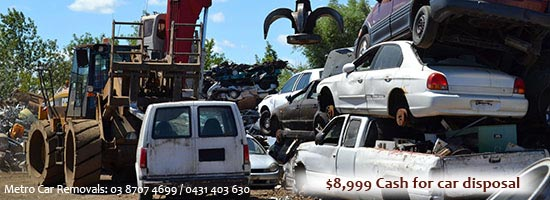 cash for car disposal