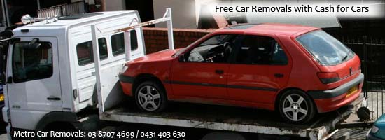Free car removals Melbourne service