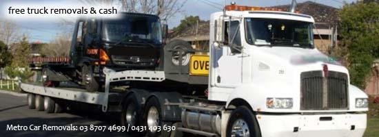 free old truck removals in Melbourne