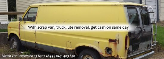 scrap truck removals Melbourne