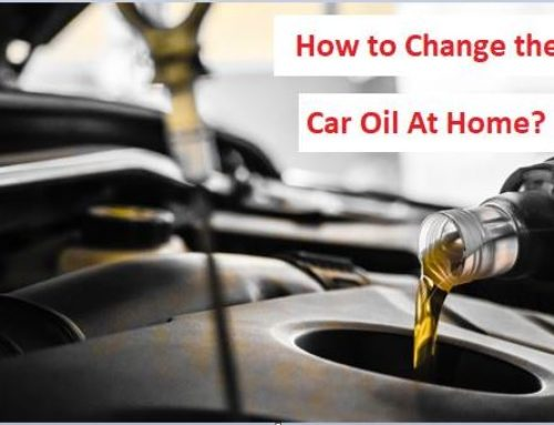 How to Change the Car Oil At Home?