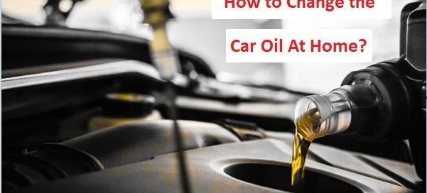 how to change car oil at home