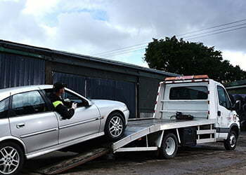 car removal reservoir